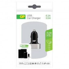 FR_GP CC61 CAR CHARGER 2 X 2.4A + 1 X 1.5A