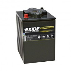Exide EQUIPMENT Gel Batterie de démarrage 6V 190Ah 750A EN S:0 P:1 B00 GC2