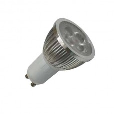 FR_GU10 LED SPOTLIGHTS,85-265V 4W,C.CT 3000K,GU10 BASE, DIMMABLE 280LM