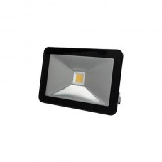 FR_LED FLOOD LIGHT 10W ZWART, WARMWIT