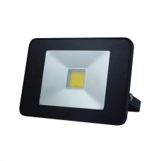 FR_LED FLOOD LIGHT 20W MET BEWEGINGSMELDER ZWART, NEUTRAALWIT