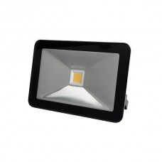 FR_LED FLOOD LIGHT 30W ZWART, WARMWIT