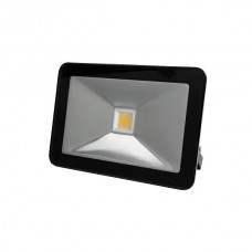 FR_LED FLOOD LIGHT 50W ZWART, WARMWIT