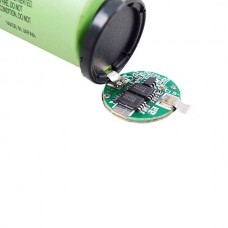 FR_LIMNO2 CELL 18650 - 3.7V 2600MAH 0,5C WITH PCB (ON TOP)