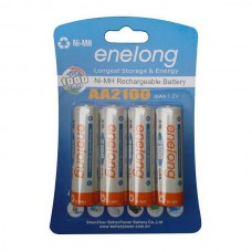 ENELONG BATTERIE RECHARGEABLE READY TO USE NiMH 4 x AA 2100MAH BLISTER