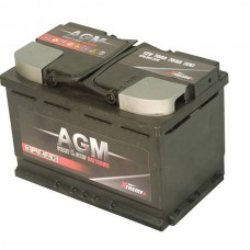 BATTERIE DE DÉMARRAGE AGM 70AH 760A +RL START/STOP PERFORMANT