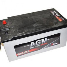 BATTERIE DE DÉMARRAGE AGM 185AH 1200A +LK START/STOP PERFORMANT